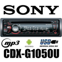 Autoestereo Sony Xplod Cdx-g1050u Cd Mp3 Usb Android 55wx4