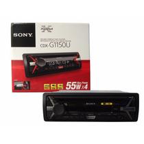 Autoestereo Sony Mod. Cdx-g1150u Con Lector De Cd Y Usb