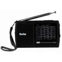 Kaito Ka321 De Bolsillo De Tamaño 10 Bandas Am / Fm Onda Cor