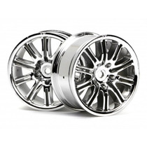 Hpi Racing 10-spoke Sport Wheel 26mm Chrome (2)