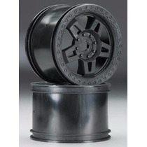 Pro-line 2722-03 Tech5 3.8 Narrow Wheels Black (2) (rines)