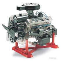 Motor Revell V8 Visible Esc.1/4 P/armar / Testors Tamiya Amt