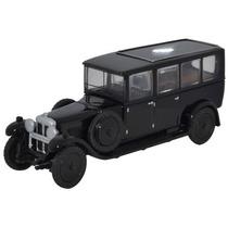 Diecast Model - Oxford 1:76 Daimler Coche Fúnebre Negro