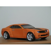 Camaro 2009 De Transformers (modelo Para Armar En Papel)
