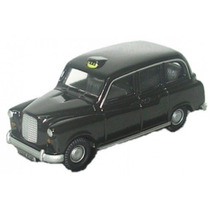 Diecast Model - Oxford 1:76 Fx4 Negro Taxi Cab Austin Alquil