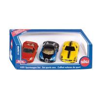 Coches De Juguete Deportes - Siku 3 Siku Gift Set Réplica E