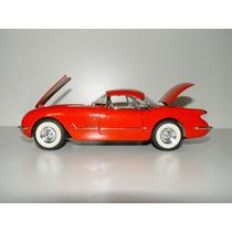 Corvette Chevrolet 1954 Rojo Made In España