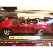 2003 Ford Svt Mustang Cobra Convertible Maisto Escala 1/18
