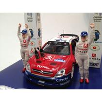 Diorama Citroen Xsara Rallye De France Ixo 1/43