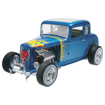 Revell 85-4228 1/25 ´32 Ford 5 Window Coupe Plastic Model
