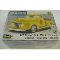 Pick Up Ford 1950 F-1 Esc.1/25 Revell Nuevo En Oferta!