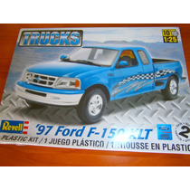 Ford F-150 Xlt 1997 Pick Up Para Armar Revell 1/25 Hm4