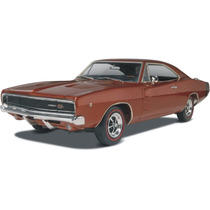 Revell Dodge Charger R/t 68 1/25 181 Partes ! 2 Opc.! Armar