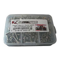 Rc Screwz Tra016 Tornillos Inoxidables Para T-maxx 3.3 Kit