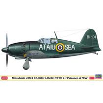 Hasegawa 52105 1/48 Mitsubishi J2m3 Raiden Prisoner Of War