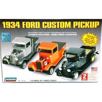 Ford 1934 Pick Up 3 En 1 Lindberg Esc 1/25 Modelo Nuevo