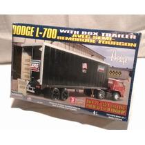 Trailer Dodge L700 Con Caja 1/25 1/24 Armar Revell Lindberg