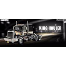 Trailer Tamiya Escala 1/14 King Hauler Black Edition 56336