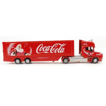 Oxford Diecast Model 1:76 Coca Cola T Cab Caja Remolque Cami