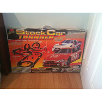 Nascar Stock Car Thunder Slot Car Racing Track By Life-like