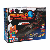 Afx Racing 21018 Autopista Slot Car Ho 4 Carriles