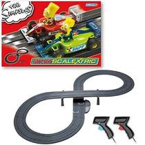 Scalextric Micro El Set Race Simpsons Gran Premio (1:64 Esca