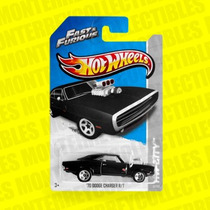 Hot Wheels Fast & Furious Rápido Y Furioso 70 Charger Rt