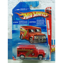 Hot Wheels Camion Rescate Armored Truck Rojo 182/214 2010 Tl