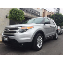 Ford Explorer 2014 5p Xlt V6 4x2 Doble A/a Piel Dvd