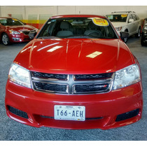 Dodge Avenger Se Atx 2013 Rojo (atm)