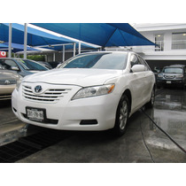 Toyota Camry Ls 2009 Blanco Automatico Equipado