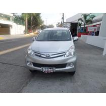 Toyota Avanza Aut 2014 Plata Certificada