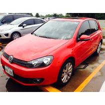 Volkswagen Golf 1.4 Turbo 2013 Rojo