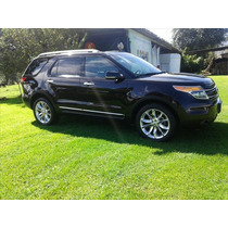 Ford Explorer 2013 5p Limited V6 4x4 4wd Doble A/a Dvd