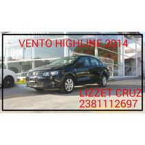 Volkswagen Vento 4p Highline L4 1.6 Man 2014