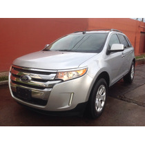Ford Edge Sel 2011 Plata 65000 Kms 1 Dueño Impecable