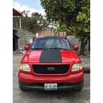Ford F-150 Xlt Sport Motor Tritón V8 5.4 L. 4 Puertas Roja