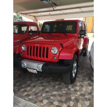 Jeep Wrangler 5p Unlimited Sahara 4x4 V6 3.6 Aut 2015