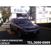 Jeep Compass Limited 4x4 2014 Ford Camsa Seminuevos Copilco