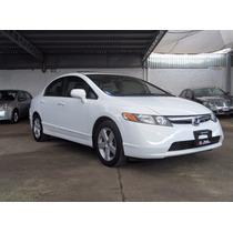 Honda Civic Lx Automático Blanco 2006