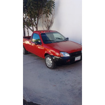 Ford Courier 2004, Roja, Pickup, Camioneta 4 Cilindros