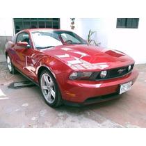 Mustang 2011 Gt V8 Automatico Factura Original Cambiaria