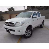 Toyota Hilux Sr 2010 Blanco | Seminuevos Pachuca | Autos
