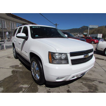 Chevrolet Tahoe Blanca 2009 5p Ta,, Piel,qc, Dvd, 2a F.astos