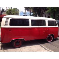 Vw Combi 1980, Motor En Buen Estado. Clásica