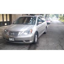 Honda Odissey 5p Exl Aut. Q/c, Piel