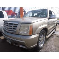 Cadillac Escalade 2002 $25000 De Enganche, Resto A Credito