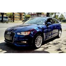 Audi A3 Ambiente Hb Turbo Std Azul 2015 $ 298,000.00