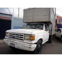 Ford F-350 91 Blanca $15000 De Enganche Resto Credito Rapido