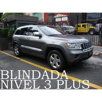 Grand Cherokee 2012 Limited Premium V8 Blindada Nivel 3 Plus